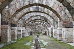 Agora von Smyrna in Izmir, die Türkei Stockfoto