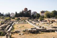 Agora w Ateny, Grecja Obrazy Stock