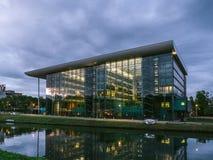 Agoragebäude Europarat Straßburg Frankreich stockfotografie