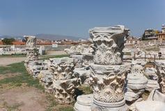 Agoraspalten (korinthisches Kapital) 1 lizenzfreie stockbilder