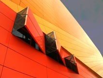 Agoratheater. The famous Agoratheater in Lelystad, Holland Stock Photo