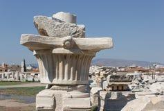 Agory kolumna 1 (oryginalny kapitał) Zdjęcie Royalty Free