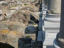 Agory miejsca archeological ruiny w Izmir Zdjęcie Stock