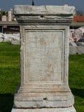 Agory miejsca archeological ruiny w Izmir Zdjęcia Stock