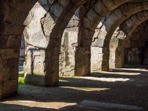 Agory miejsca archeological ruiny w Izmir Obraz Stock