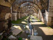 Agory miejsca archeological ruiny w Izmir Obrazy Royalty Free