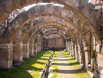 Agory miejsca archeological ruiny w Izmir Fotografia Royalty Free