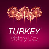 30 agosto bayrami Victory Day Turkey dello zafer Immagine Stock