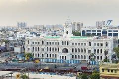 4 agosto 2017 - Chennai, INDIA: Bu storici di società di Chennai Immagini Stock