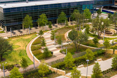 19 agosto 2015 - Dallas, il Texas, U.S.A. La nuova aggiunta a Parkl Immagine Stock Libera da Diritti