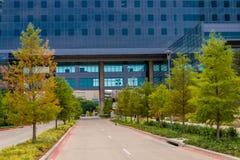 19 agosto 2015 - Dallas, il Texas, U.S.A. La nuova aggiunta a Parkl Fotografia Stock