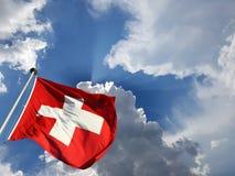 1° agosto festa nazionale svizzera Fotografie Stock Libere da Diritti
