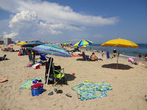 agosto na cidade Maryland do oceano fotografia de stock royalty free