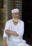 7 agosto 2013: Resti di un uomo dei musulmani fuori di un resto Fotografie Stock Libere da Diritti