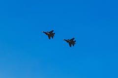 6 agosto 2016 Rjazan', Russia Gli aerei dell'aria militare Fotografia Stock Libera da Diritti