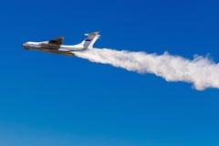 6 agosto 2016 Rjazan', Russia Gli aerei dell'aria militare Fotografie Stock Libere da Diritti