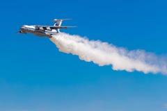 6 agosto 2016 Rjazan', Russia Gli aerei dell'aria militare Fotografie Stock
