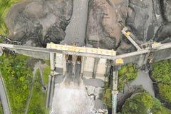 Agoyan water damin Banos De Agua Santa Royalty Free Stock Image
