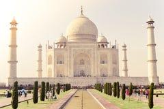 Agra, Índia, em janeiro de 2019: Taj Mahal, foto de stock
