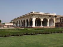agra budynku fortu historyczna czerwień Obraz Stock