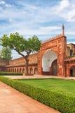 Agra Czerwony fort, India, Uttar Pradesh Zdjęcia Stock