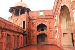 Agra czerwony fort, Uttar Pradesh, India Zdjęcie Royalty Free
