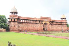 Agra czerwony fort, Uttar Pradesh, India Zdjęcia Stock