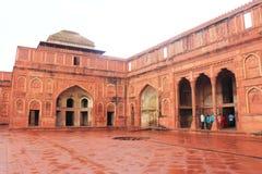 Agra czerwony fort, Uttar Pradesh, India Zdjęcie Stock