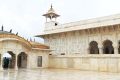 Agra czerwony fort, Uttar Pradesh, India Fotografia Stock