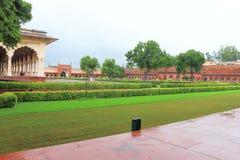 Agra czerwony fort, Uttar Pradesh, India Obrazy Stock