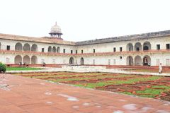 Agra czerwony fort, Uttar Pradesh, India Obraz Royalty Free