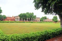 Agra czerwony fort, Uttar Pradesh, India Obrazy Royalty Free