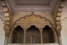 Agra dentro il castello Fotografia Stock Libera da Diritti