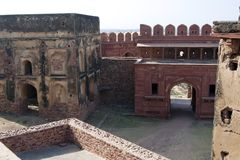 agra fatehpur ind pradesh sikri uttar Fotografia Royalty Free