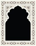 Agra Floral Frame Royalty Free Stock Images