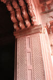 Agra Fort 02. Detail of one arch in the Agra Fort, India Stock Images