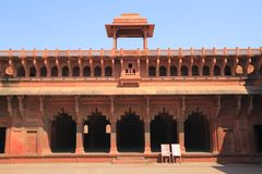 The Agra Fort Royalty Free Stock Image