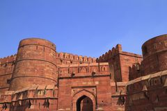 The Agra Fort Royalty Free Stock Photography