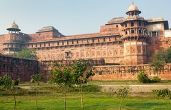 The Agra Fort Royalty Free Stock Images