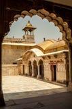 Agra-Fort Lizenzfreies Stockfoto