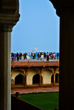 Agra fort Obraz Stock