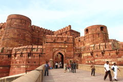 Agra fort: Obraz Royalty Free