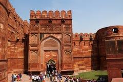 Agra Fort Arkivfoto