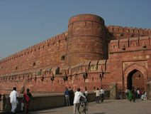 agra fort obrazy royalty free