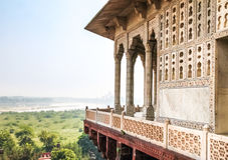 Agra-Fort - Agra, Indien Stockfotos