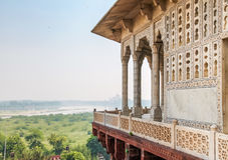 Agra-Fort - Agra, Indien Lizenzfreies Stockfoto