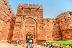 Agra fort, Agra, Uttar Pradesh Zdjęcie Stock