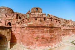 Agra fort, Agra, Uttar Pradesh Fotografia Stock
