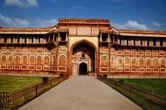 Agra fort, Agra, Uttar Pradesh, India Obrazy Royalty Free