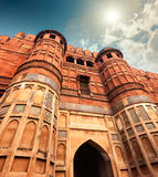 Agra fort, Agra, Uttar Pradesh, India, Azja Obraz Royalty Free
